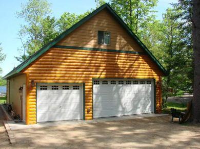 Compton-Construction-Brainerd-log-cabin-garage